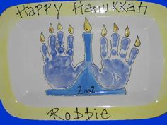 Hanukkah Card Idea-Autumn would love to make one of these.