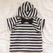 black and white top for boys by thumbeline