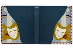 """""""Vies Imaginaires"""" - Marcel Schwob - Illustrations by George Barbier. Leather binding by Luigi Castiglioni"""