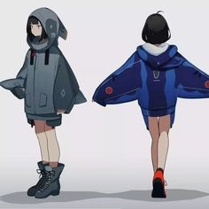 Game Character Design, Character Design Animation, Fantasy Character Design, Character Design References, Character Design Inspiration, Character Concept, Character Art, Cool Anime Girl, Cute Anime Pics