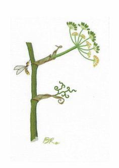 Alphabet Botanique F