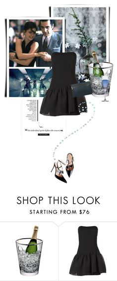 """""""Dance Party!"""" by lacas ❤ liked on Polyvore featuring LSA International, Maje, Victoria Beckham, dance, danceparty, newyearscelebration and newyearstyle"""