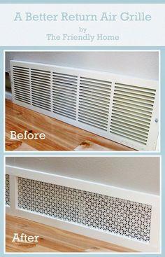Amazing-Easy-DIY-Home-Decor-Ideas-pretty-air-grill.jpg 736×1,145 pixels