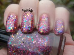NEW  Sweetly  Full Size Glitter Nail Polish by WikidNails on Etsy, $7.50