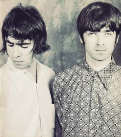 Gallagher brothers - I used to have this poster on my wall!