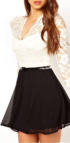 Little Black Lace Dress // #lbd