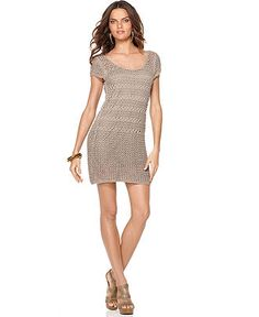 very affordable  Kensie crochet dress from Macy's, $98