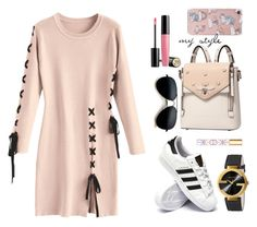 """""""my style"""" by rebellionleonora on Polyvore featuring adidas, Gucci, Tory Burch, Forever 21 and Lancôme"""