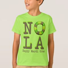NOLA King Cake gifts T-Shirt - tap, personalize, buy right now!