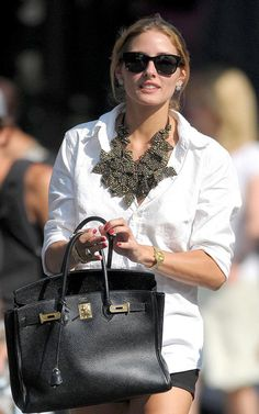One of my all time favorite Olivia Palermo looks. | THE OLIVIA PALERMO LOOKBOOK | Bloglovin'