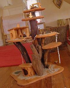 Bending Birches: Kimberton Waldorf School Love this treehouse.