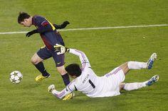 Momento en el que Leo choca con Artur Guilherme #messi @FC Barcelona