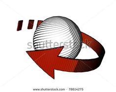Cyclic Arrow Stock Photo 78614275 : Shutterstock