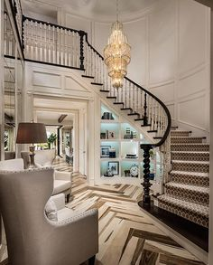 Not your average foyer ... By @designlinesd