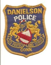 DANIELSON CONNECTICUT POLICE PATCH