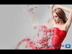 ▶ Photoshop Tutorial - Partikel Effekt / Dispersions Effekt - (Anleitung, Deutsch, HD) - YouTube