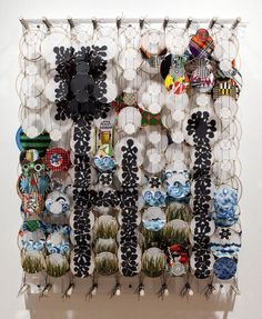 Deep in the Cradle of Empty Air, Jacob Hashimoto, 2012
