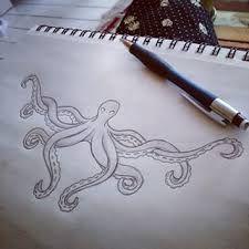octopus underbust tattoo - Google Search