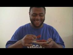 He Ain't No Bitch! -> Black Man VS 3 Bhut jolokia GHOST PEPPERS! dipped in hot sauce