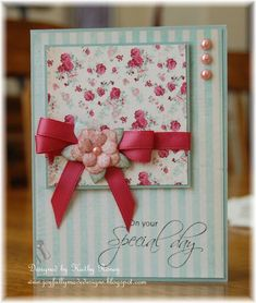 One Sheet Wonder 6x6 - Card #2 by rosekathleenr - Cards and Paper Crafts at Splitcoaststampers