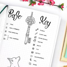 I drew this page in the Summer last year but totally missed sharing it. So here we are! A bullet journal key helps you remember what each icons stands for and use them accordingly. You know I'm all about visual cues since I feel it increases my productivity a lot. And of course it had to had a corgi on it!!!