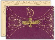 Indian wedding invitation (envelope)