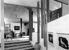 Inspiration: Archive photos from Villa Mairea Alvar Aalto, Very Well, Interior Design Inspiration, Contemporary Design, Really Cool Stuff, Minimalism, My Design, Archive, Villa