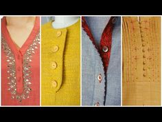 Denim kurti designs to wear with jeans/ palazo pants   Denim kurti designs with purchase link - YouTube