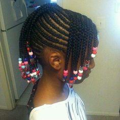 Nigerian Children Hairstyles Black Little Girls Hair Styles  Pinterest  Cornrow Designs Black