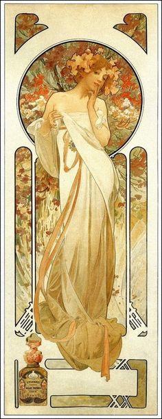 Alphonse Mucha | Sylvanis Essence - 1899.: