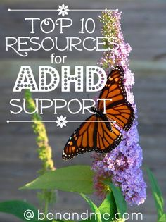Top 10 Resources for ADHD Support #ADHD #homeschool