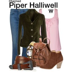 Inspired by Holly Marie Combs as Piper Halliwell on Charmed.