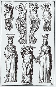 Franz Sales Meyer - A Handbook of Ornament - 1898 Baroque Frame, Designers Gráficos, Ornament Drawing, Roman Art, Greek Art, Ancient Art, Art Reference, Pop Art, Art Drawings
