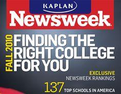 Kaplan College Guide, Newsweek
