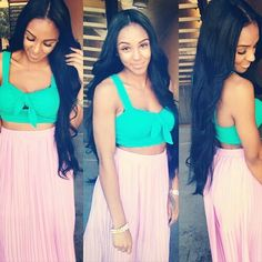 Gorgeous #hair and outfit!