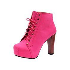 Rivazo Women's Pink Synthetic High Heels Boots -36 Rivazo http://www.amazon.in/dp/B00QLXV90K/ref=cm_sw_r_pi_dp_bhf1vb0EA4K6Z