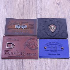 Sewing Leather, Pu Leather, Sewing Labels, Business Card Psd, Sew On Patches, Badge, Card Holder, Wallet, Metal