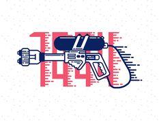 Nerf Super Soaker Serieshttp://www.fromupnorth.com/vector-inspiration-1125/