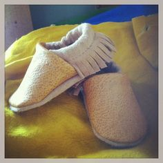Tan Fringe Soft Soled Leather Shoes Baby pick your size 0-3m,  3-9m, 6-12m, 12-18m via Etsy