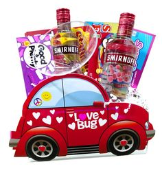 Love Bug with Smirnoff and Candy Gift Box
