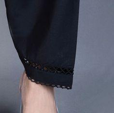 Kurti Sleeves Design, Sleeves Designs For Dresses, Dress Neck Designs, Stylish Dress Designs, Salwar Designs, Kurti Neck Designs, Kurta Designs Women, Pakistani Dresses Casual, Pakistani Dress Design