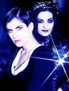 "Shakespear's Sister:  Marcella Detroit and Siobhan Fahey for the ""Stay"" video, which was formative for me long ago."