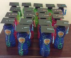 Handmade kindergarten graduation caps and tassels. Like what you see? Follow me on FB www.facebook.com/MisawaGiftCakesbyTasha