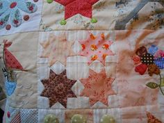 Stonefieldsquilt van Susan Smith gemaakt door (Ingrid) Supergoof van http://supergoof-quilts.blogspot.nl/