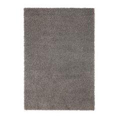 """IKEA - HAMPEN, Rug, high pile, 4 ' 4 """"x6 ' 5 """", , Durable, stain resistant and easy to care for since the rug is made of synthetic fibers.The high pile makes it easy to join several rugs, without a visible seam."""