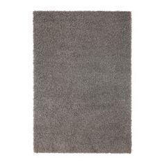 HAMPEN Alfombra, pelo largo, gris - gris - 160x230 cm - IKEA