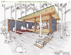 Mobiliario Urbano para el Parque Arvi de Medellín / Escala Urbana Arquitectura (27)