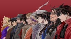 Drifters Anime Characters Wallpaper