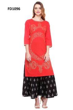 Fancy & Trendy Casual Designer Kurti_2-2 | Shopo.in