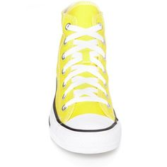 Converse Women's Converse Chuck Taylor All Star 'Seasonal' High Top... ($52) ❤ liked on Polyvore featuring shoes, sneakers, summer sneakers, american shoes, summer shoes, bright shoes and star shoes